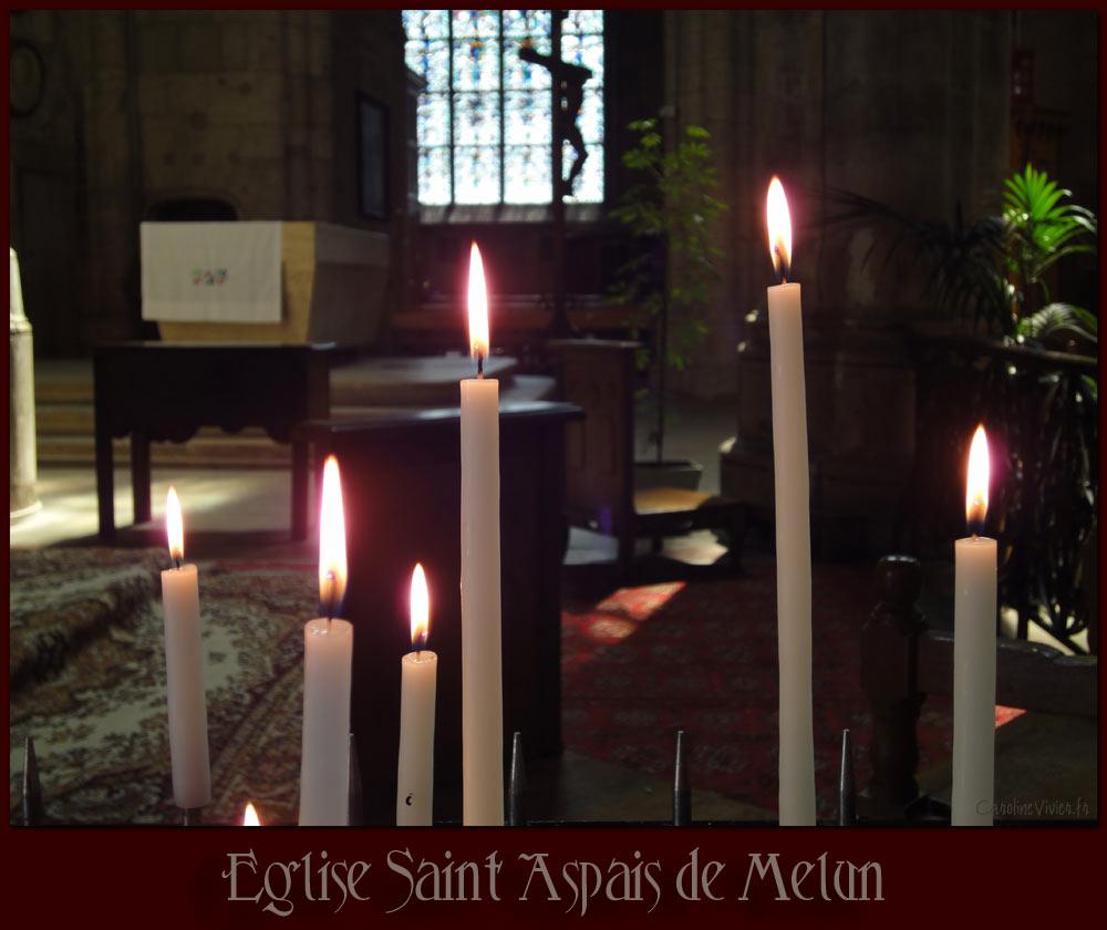 Eglise Saint Aspais de Melun - Seine et Marne