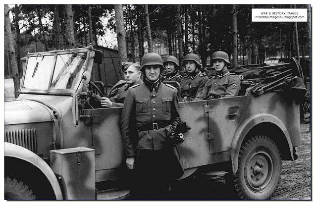 car work Einsatzgruppen Nazi Killing Squads