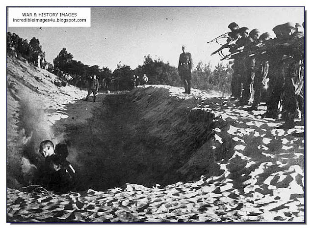 Execution Jews Dubossary September 14, 1941 Einsatzgruppen