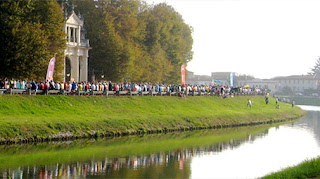 Venice Marathon Brenta river