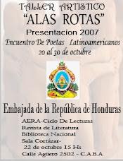 CONVITE E PROGRAMA  DE ENCONTRO DE POETAS LATINO-AMERICANOS