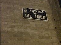 Travesía de Gil Imón
