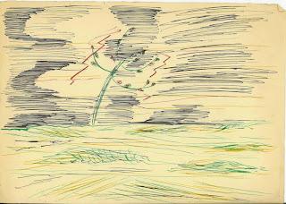 Dibujo de Juan Ramón Jiménez