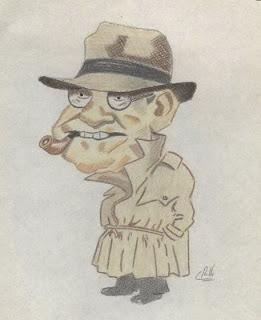 Santiago Carrillo, fumador