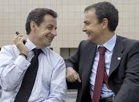 Sarkozy y Zapatero, amiguetes