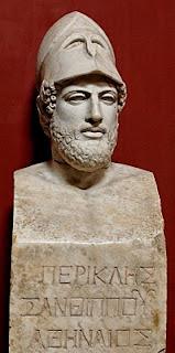Pericles, hijo de Jantipo, ateniense - Museo Pío Clementino, El Vaticano