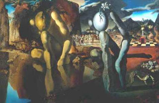 Metamorfosis de Narciso - Salvador Dalí