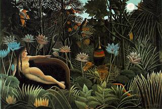 El sueño - Henri Rousseau, el aduanero