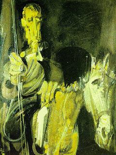 Don Quijote y Rocinante - Álvaro Delgado