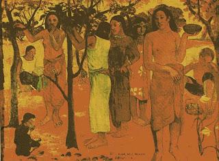 Nave Nave Mahana (Día de delicias) - Paul Gauguin