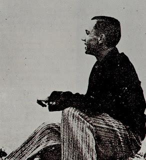 Miguel Hernández en la sierra de Orihuela, 1934