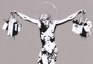 Consumer Jesus - Banksy