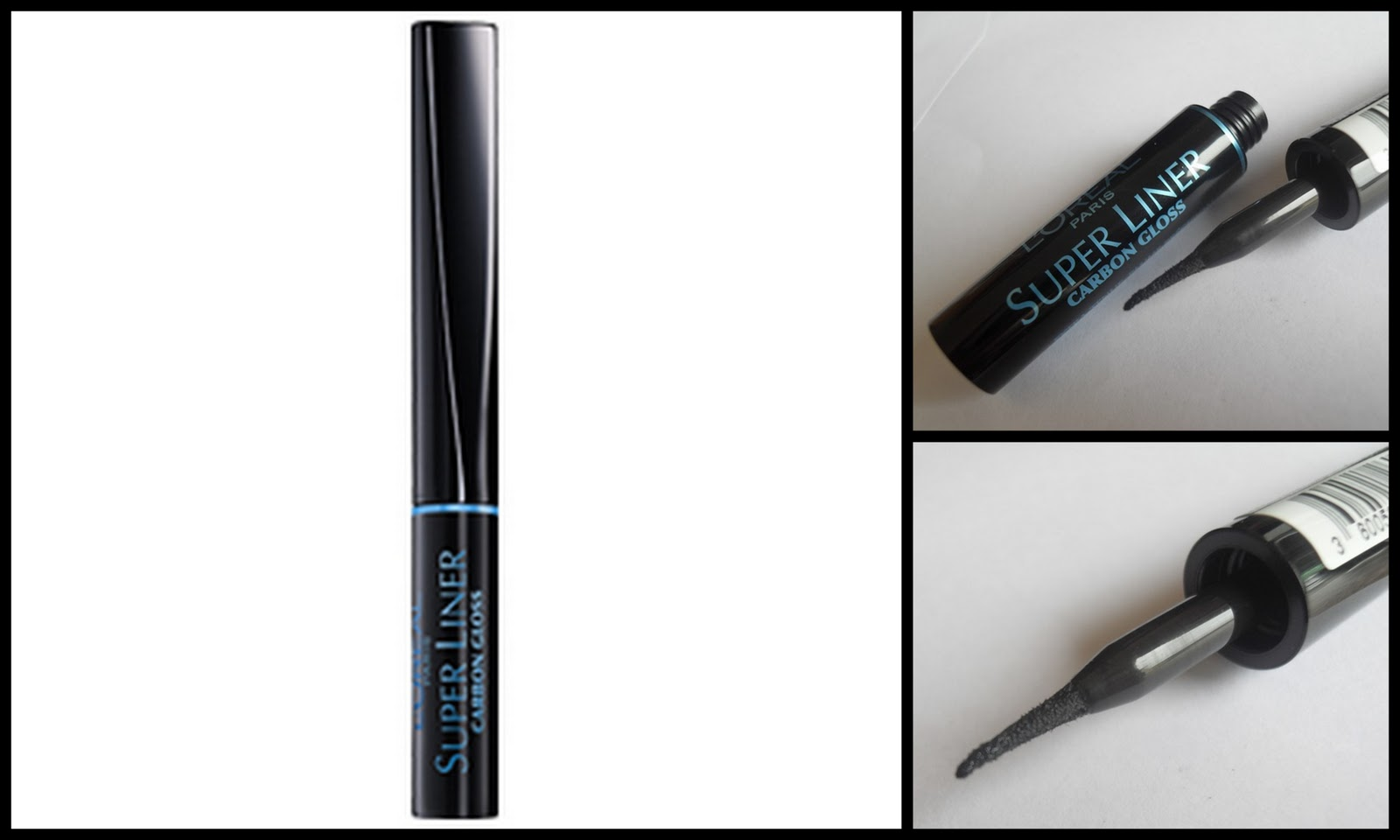Dazzle and Sizzle: L'Oreal Super Liner Carbon Gloss Reviews