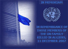 In Memoriam to Algiers Victims