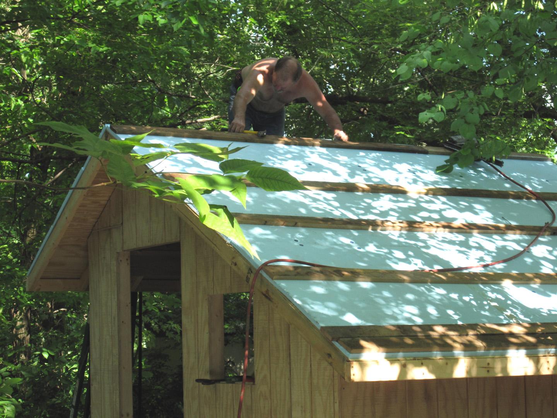 Metal Roof: Metal Roof Over Rigid Foam
