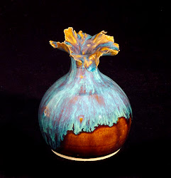 Ruffled Vase
