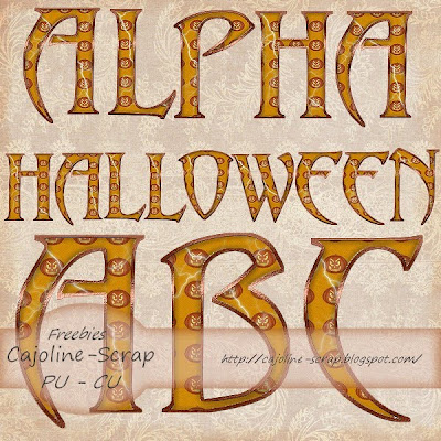 http://cajoline-scrap.blogspot.com/2009/10/freebie-alpha-halloween-pu-et-cu.html