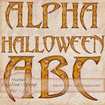 http://cajoline-scrap.blogspot.com/2009/10/freebie-alpha-halloween-pu-et-cu.html