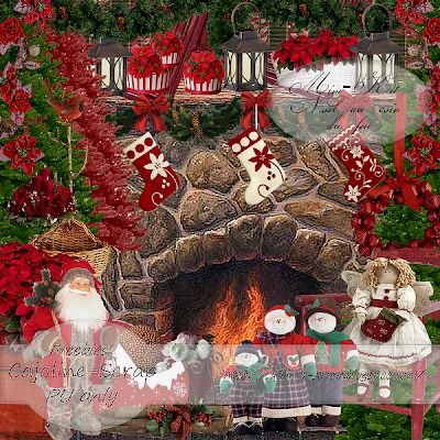http://cajoline-scrap.blogspot.com/2009/10/freebie-mini-kit-noel-au-coin-du-feu-pu.html