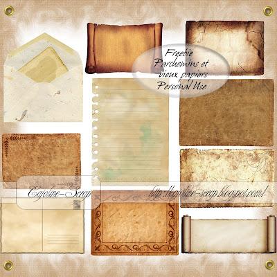http://cajoline-scrap.blogspot.com/2009/12/freebie-parchemins-et-vieux-papiers-pu.html