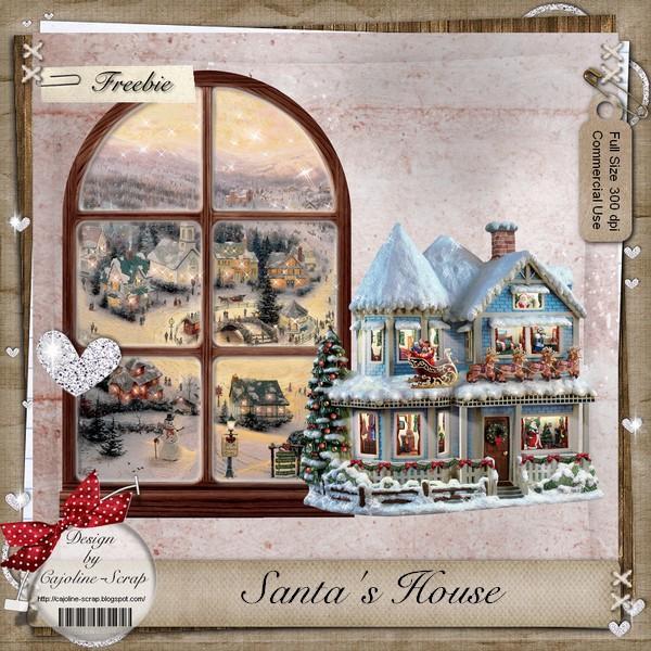 SANTA'S HOUSE + WINDOW - CU Cajoline_santa%2527s+house_pv