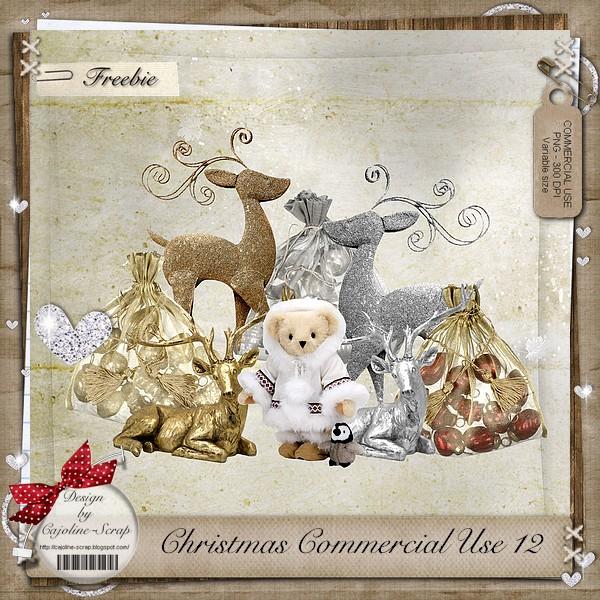 CHRISTMAS COMMERCIAL USE 12 Cajoline_christmasCU12_pv
