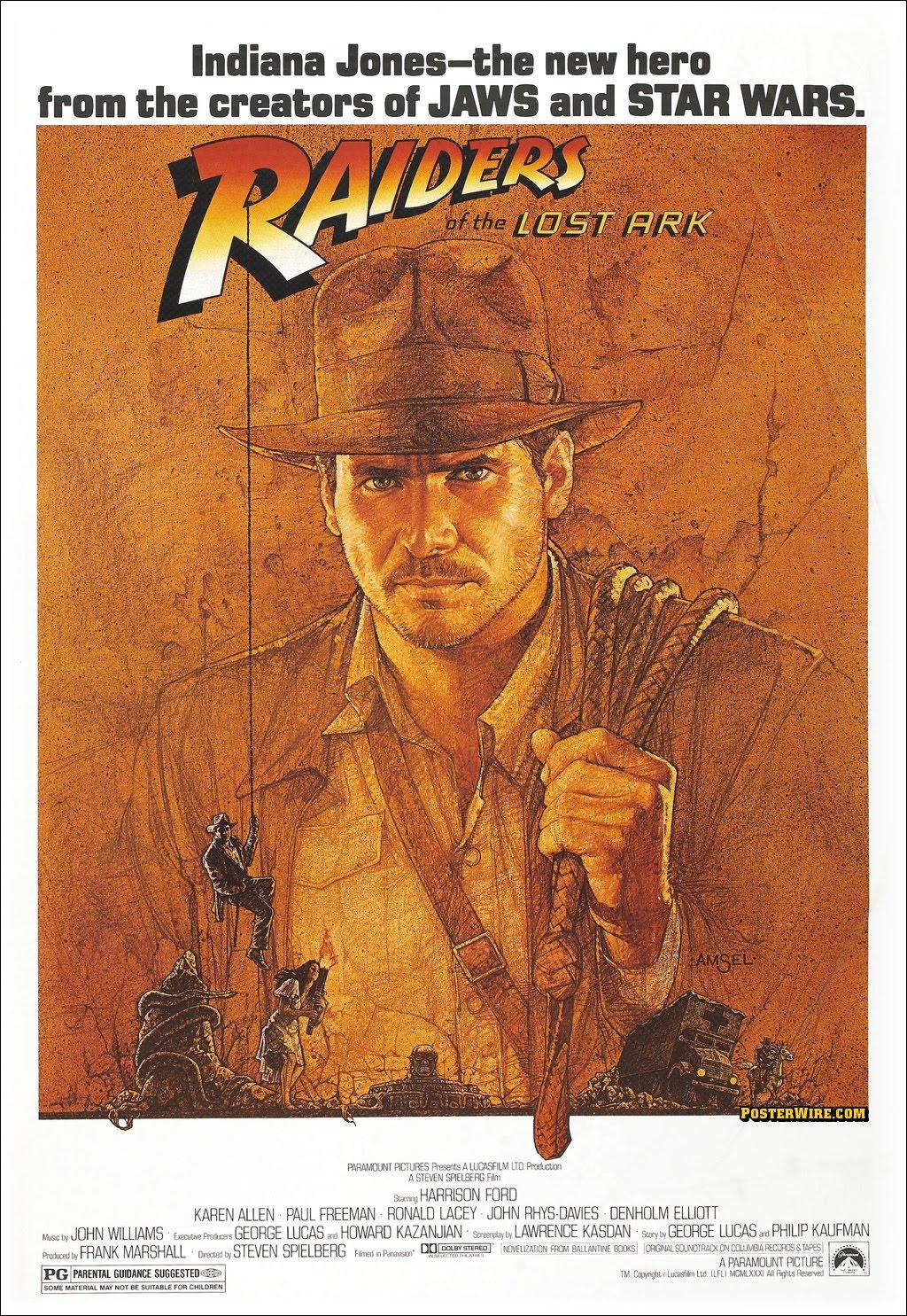 Indiana Jones: Raiders of the Lost Ark (1981) ~ Movie Mobile