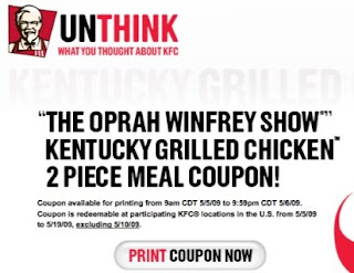 Dearest Oprah (More free chicken?)