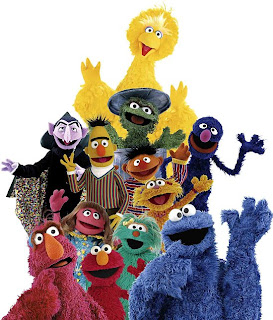 Childhood shows rocked, especially Sesame Street