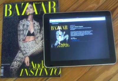Harper's Bazaar en iPad