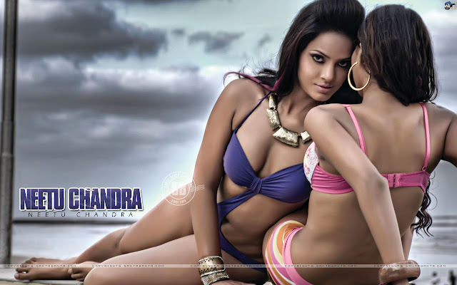 Neetu Chandra Super Hot Indian Model