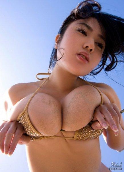 Sexy Big Japanese Babe Mori Hanai