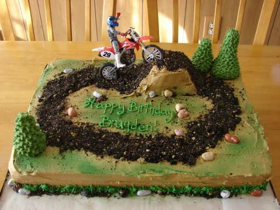 dirt bike cake - photo #1