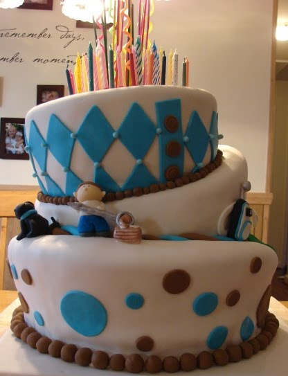 Cake Decorating Ideas For A 90 Year Old : My Cake Hobby: 90th Birthday cake