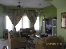 Ruang Tamu Setelah Di Furnishkan Dengan Perabut