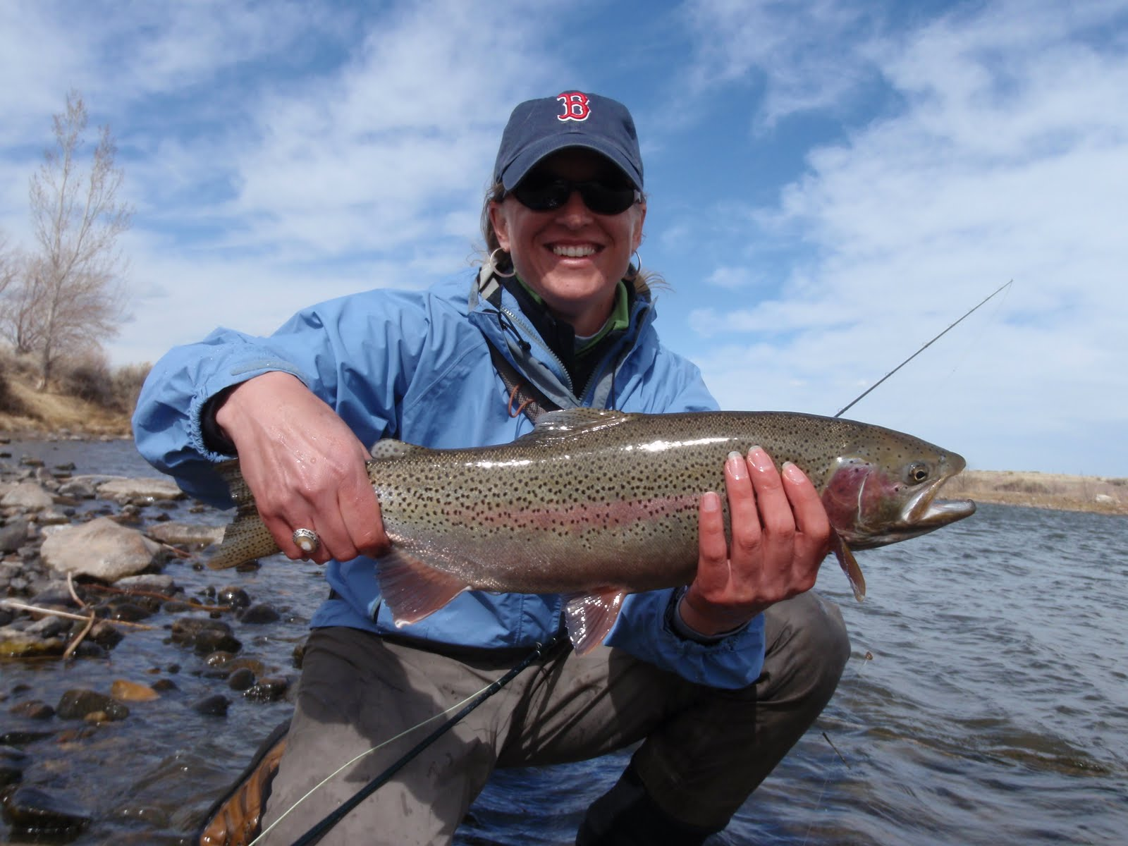 Colorado fly fishing reports gun to my head yeah i 39 d for Colorado fly fishing reports