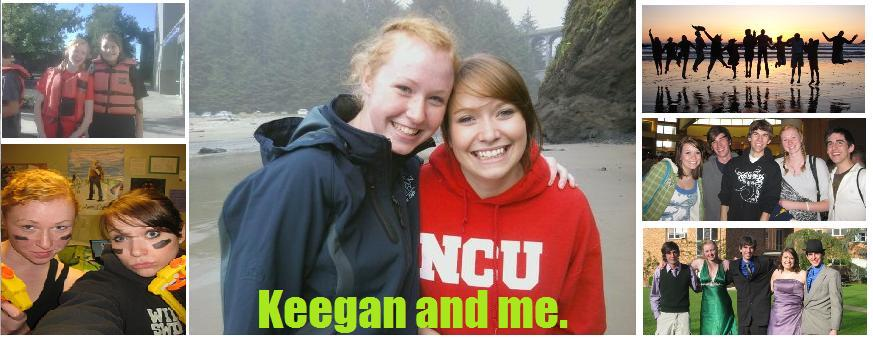 Keegan and me.