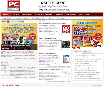 PC Net - Kalite Blog