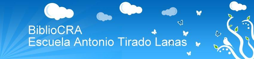 BIBLIOCRA Escuela Antonio Tirado Lanas