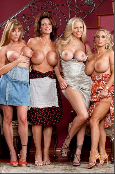 Фото горячих мамочек