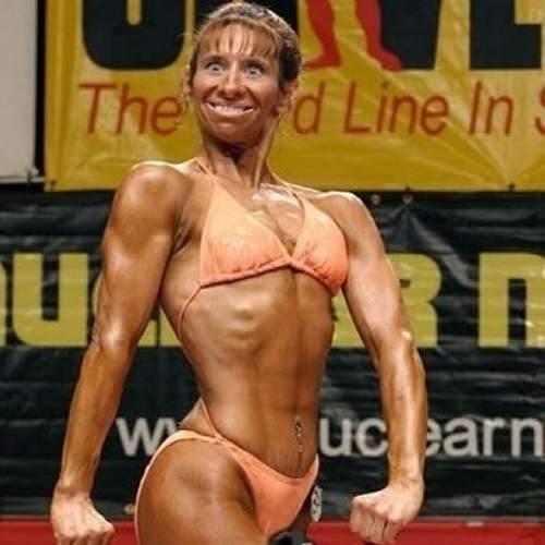 Smiješna strana sporta na slici Funny+sports+pictures+-+Female+Bodybuilding+Pose