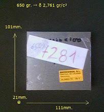 Al-7281 para la patilla proyectada
