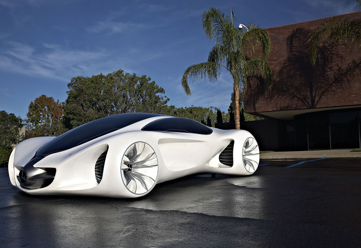 The future by mercedes benz the biome vision concept for Mercedes benz biome