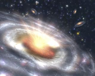 Resultado de imagen de Gaia descubre un enjambre de cuásares