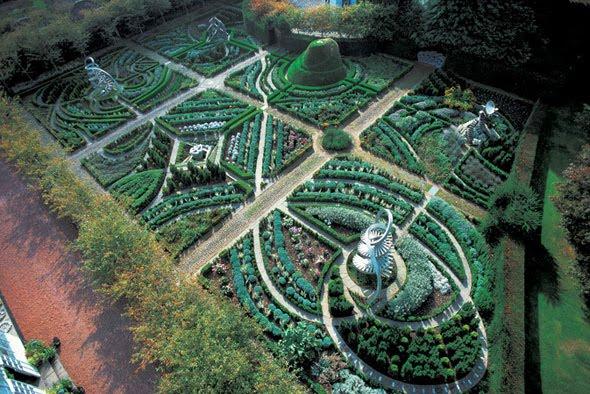 los jardines mas bellos