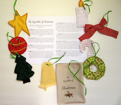 symbols of christmas + patchwork ornaments tutorial