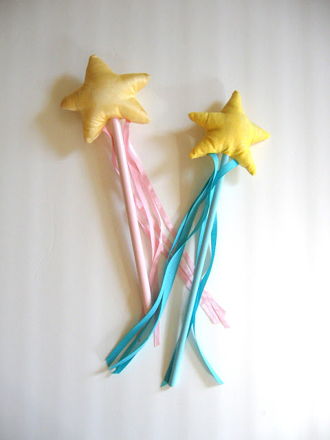 fairy wand tutorial: