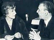 Con Elsa Astete