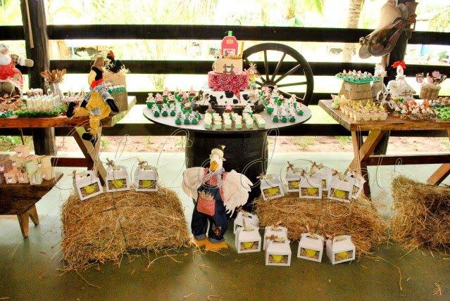 Cumpleaños de la granja - LaCelebracion.com