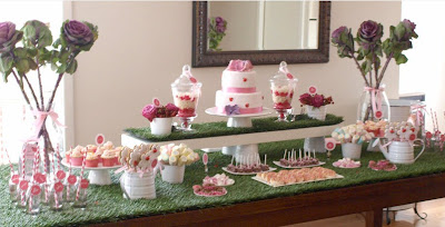 Fiesta de Mariquita roja y rosa